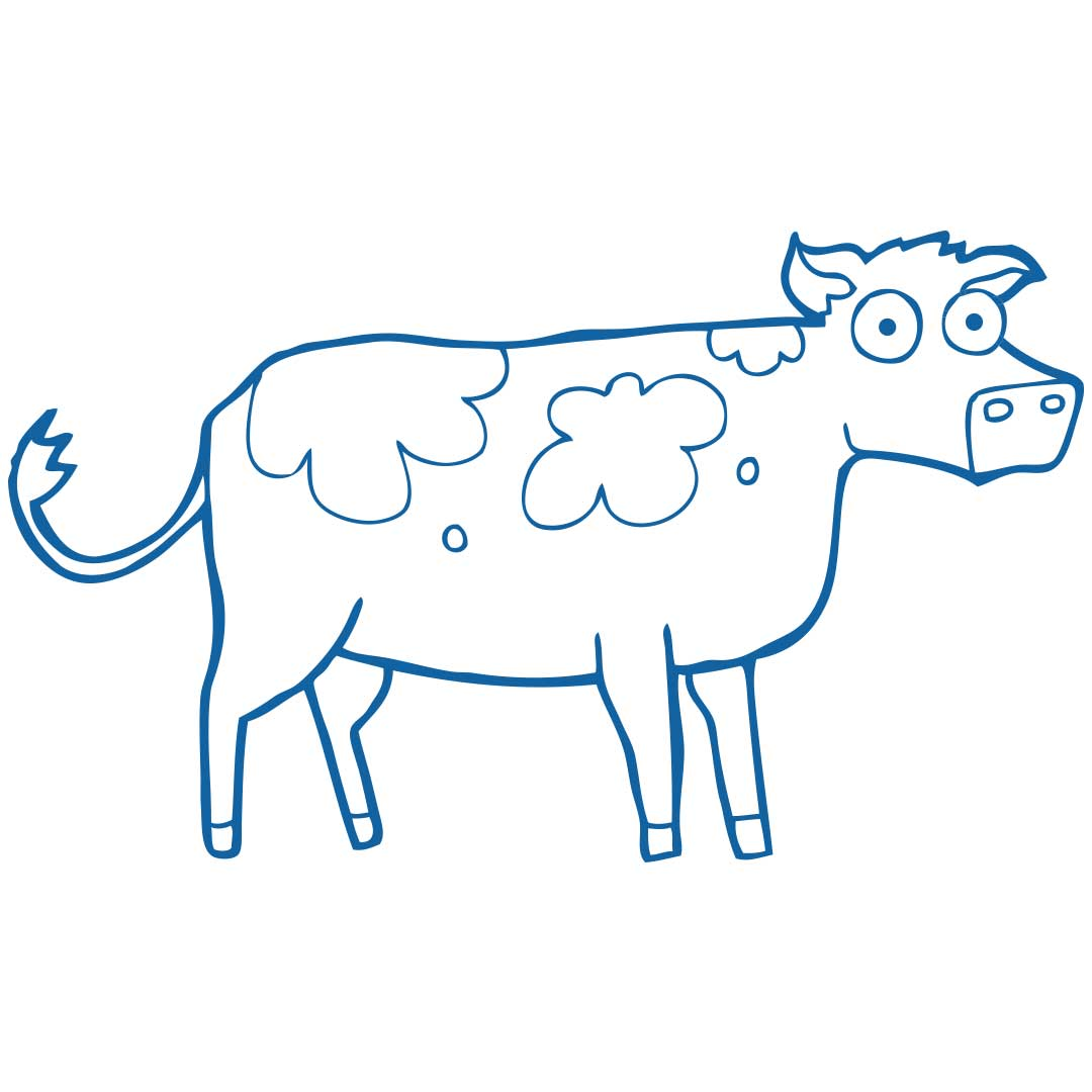 Toy Cows (Blue)
