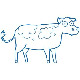MooGoo Skincare Healthy Hair Minis products, blue gift box and decorations