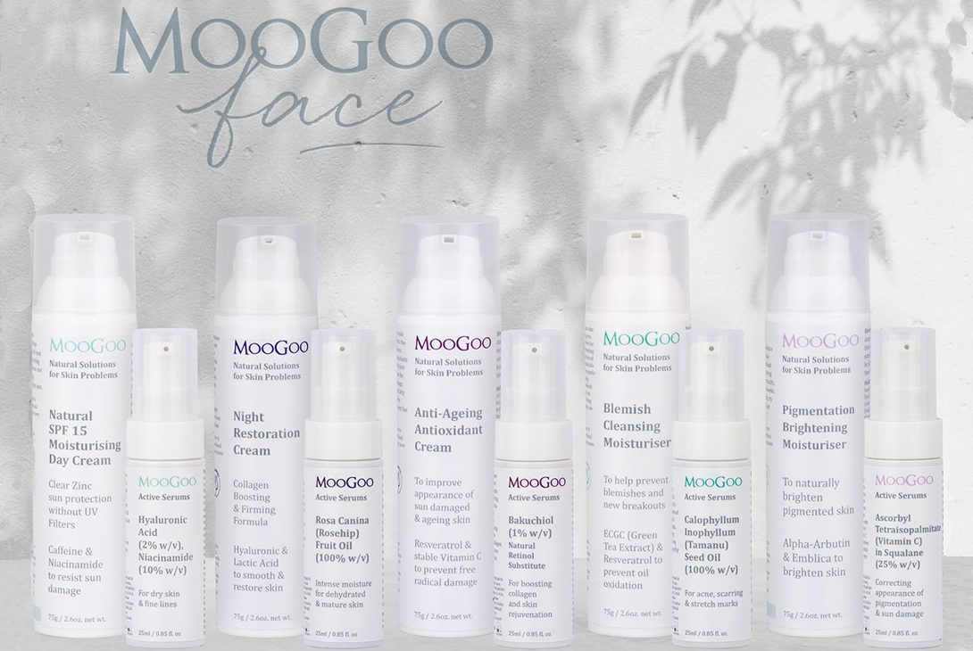 How to Choose What to Use; A Guide to MooGoo Face Creams